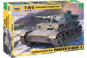 Танк T-IV E немецкий средний (1/35)