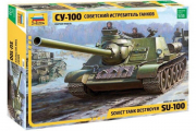 Танк СУ-100. NEW (1/35)