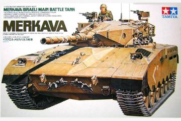 Танк Merkava Израиль (1/35)