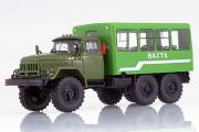 ЗИЛ-131 вахтовый автобус 32104, зеленый (1/43)