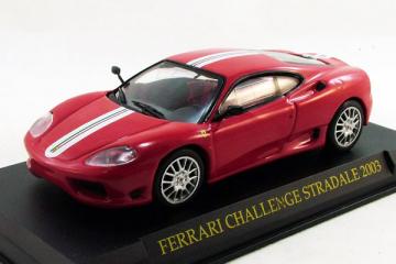 Ferrari Challenge Stradale 2003, красный (1/43)