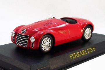Ferrari 125S, красный (1/43)