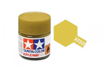 Краска XF-88 темно-желтая 2 (Flat Dark Yellow 2) 10 мл.