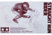 Мотогонщик на мотоцикле в движении прямо (Straight Run Rider) (1/12)