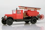 ПМЗ-2 (ЗИС-5) пожарный, красный (1/43)