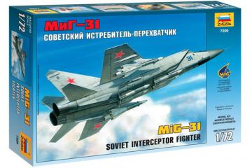 Самолет МИГ-31 (1/72)