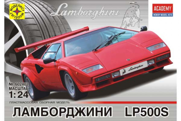 Автомобиль Lamborghini Countach LP500S (1/24)