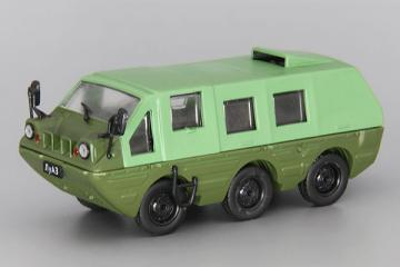 ЛуАЗ-1901 'Геолог' 6х6, зеленый/хаки (1/43)