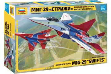 Самолет МИГ-29 авиагруппа 'Стрижи' (1/72)