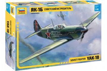 Самолет ЯК-1Б советский истребитель (1/48)