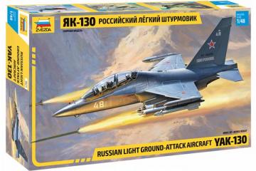 Самолет ЯК-130 российский штурмовик (1/48)
