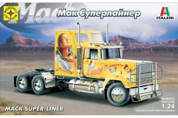 Автомобиль Mack Super-Liner седельный тягач (1/24)