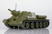 Танк СУ-122, хаки (1/43)