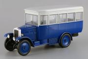 АМО-Ф-15 автобус 1924, синий/белый (1/43)