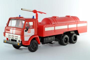 КАМАЗ-53213 пожарный, красный (1/43)