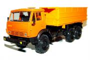 КАМАЗ-55105 самосвал сельхозвариант, оранжевый (1/43)