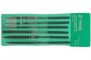 Надфили набор Tundra Baisic 6 шт. 160х50х4 мм, зеленый