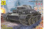 Танк T-II J немецкий (1/35)