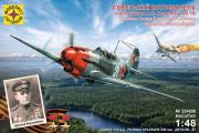 Самолет ЯК-7Б дважды Героя СССР Арсения Ворожейкина (1/48)