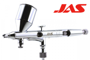 Аэрограф JAS 1131 (сопло резьбовое 0,3, Air Control), емкость 13 мл