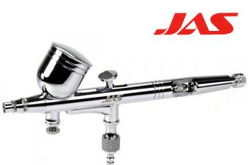 Аэрограф JAS 1163 (сопло резьбовое 0,3, Air Control), емкость 7 мл