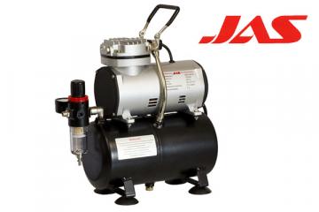 Компрессор JAS 1203 с регулятором давления, автоматика, рессивер