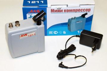 Компрессор JAS 1211 с регулятором давления, автоматика