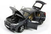 BMW X4 F26 2014, темно-серый (1/18)