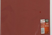 Шкурка шлифовальная LOM P2000 230х280 мм на бумажной основе, водостойкая 1 лист