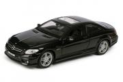 Mercedes-Benz CL63 AMG, черный (1/24)