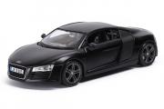 Audi R8, черный (1/24)