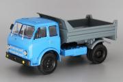 МАЗ-503А самосвал 1975, голубой/серый (1/43)