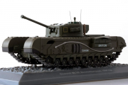 Танк Churchill Mk.VII Великобритания 1944, хаки (1/43)