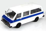 РАФ-22038 'Латвия', белый/синий (1/43)