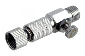 Муфта быстроразъемная для шланга JAZ G1/8 + кран