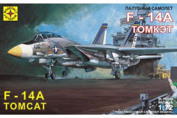 Самолет F-14A Tomcat истребитель-перехватчик (1/72)