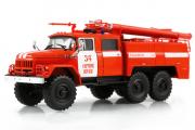АЦ-40 (131)-137 пожарный '34 Сергиев Посад', красный/белый (1/43)