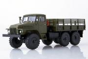 Урал-375Д бортовой, хаки (1/43)