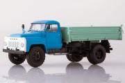 САЗ-3507 (53) бортовой, синий/зеленый (1/43)