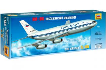 Самолет Ил-86 (1/144)