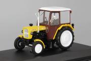 Трактор Ursus C-330, желтый (1/43)