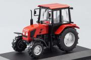 Трактор Беларус-92П, красный (1/43)