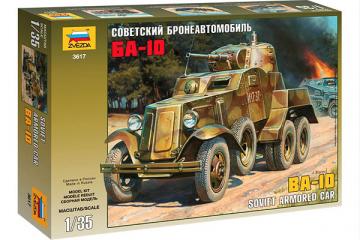 Бронеавтомобиль БА-10 (1/35)