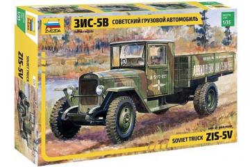 Автомобиль ЗИС-5В бортовой 1942-1947 с фигурой водителя (1/35)