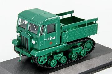 Трактор СТЗ-5 Сталинец гусеничный бортовой, зеленый (1/43)
