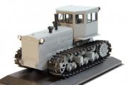 Трактор Т-140 гусеничный, серый (1/43)