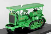 Трактор Holt полугусеничный, зеленый (1/43)