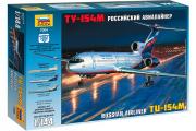Самолет ТУ-154М (1/144)