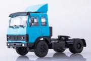 МАЗ-5432 седельный тягач ранний 4х2, синий (1/43)