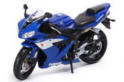 Мотоцикл Yamaha YZF-R1, синий (1/12)